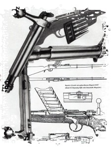 gun mannlicher illustration