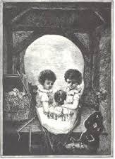 mourning skull