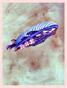 steampunk millennium bear airship