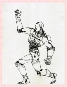 steampunk robota adam moves 2