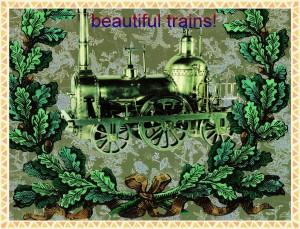 steampunk train 2---