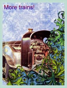 steampunk train 3---