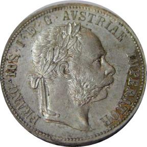 francis joseph coin-framed
