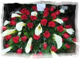 funeral flowers 7-framed