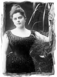 mary posing-framed 12
