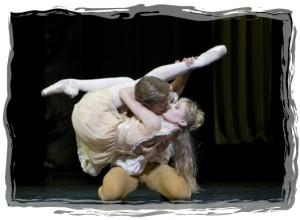 Mayerling ballet 4-framed