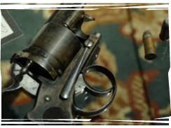 mayerling gun bullets-framed