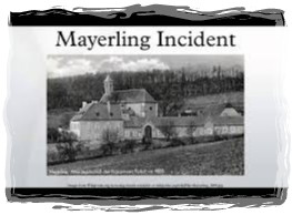 mayerling incident- 1framed