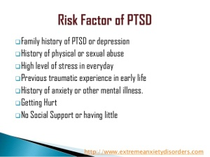 post traumatic stress disorder term paper Traumatic experiences have therefore been associated, and usually enhanced, by physical injury thereby leading to stress disorders such as ptsd (russell, 2000) moreover, if such injury is terminal, then the length and severity of the stress disorder increases multifold.