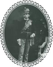 rudolph soldier boy-framed