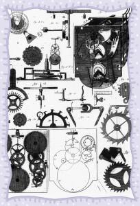 steampunk clocks 3-framed