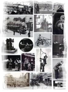 steampunk machines 1-framed