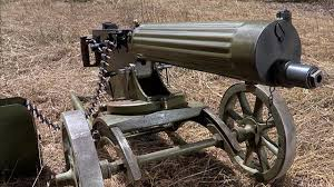 war games maxim machine gun