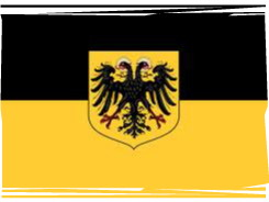 empire flag--- black and yellow