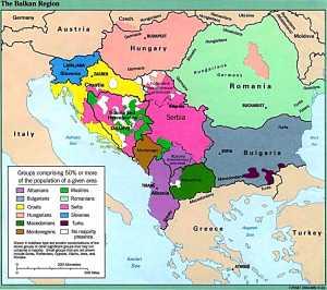 empire map balkans map