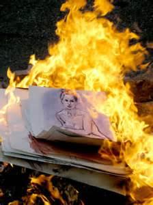 arson art burning