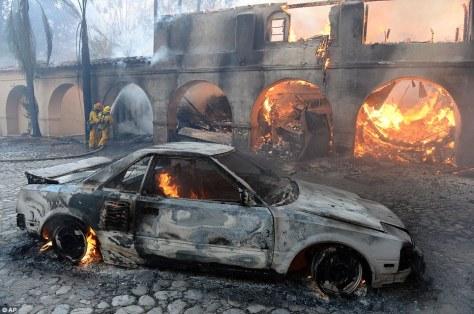 arson day cars