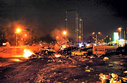 arson night sweden