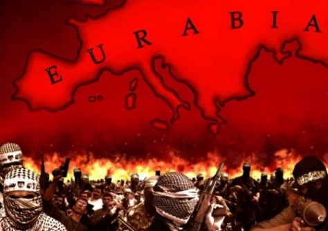 eurabia on fire
