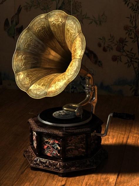 mansion gramophone