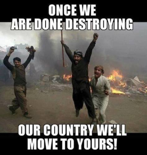 migrant destroying nations Islam-destroy-country-650