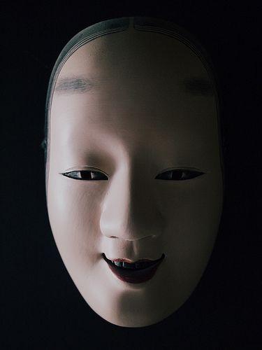 noh mask shadows