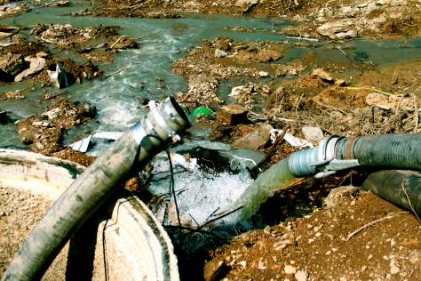 sewage-river