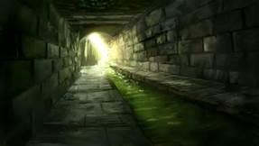 sewer dim light