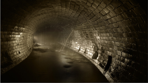 sewer mysterious