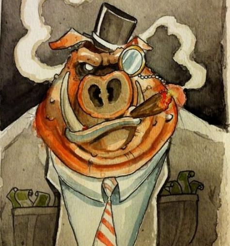 capitalist-pig