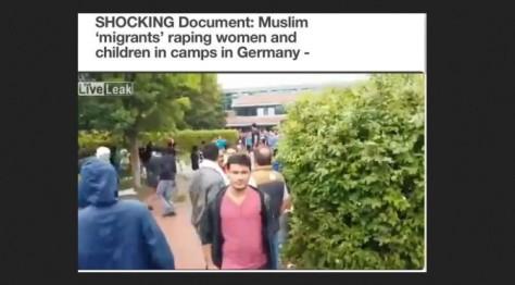 migrants raping